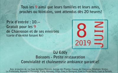 8 juin 2019 – Bal des 9 à Chamoson
